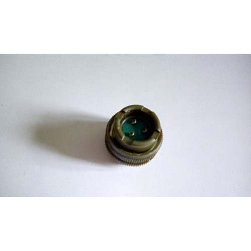 MILITARY ELECTRICAL CONNECTOR FIXED BULKHEAD SOCKET 3 PIN FEMALE POWER